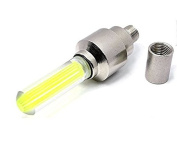 Liroyal Bicycle Safety LED Wheel Lights Neon x 2 Pack