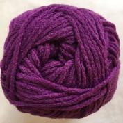 "Crystal Palace Yarns Cuddles DK #0114 ""Byzantium"" Purple MicroFiber Acrylic 50 Gramme"