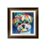 Bettal 5D Diamond Embroidery Dog Painting Cross Stitch DIY Art Craft Home Decoration