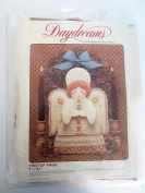 Daydreams Crewel Embroidery Kit #826 Treetop Angel Design by Dick Martin