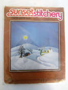 Sunset Stitchery - Quilted Winter Scene - Designed by Ronni 1980