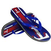 Unisex Gradient Big Logo Flip Flop For MLB Texas Rangers X-Small