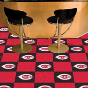 Fanmats Sports Team Logo Cincinnati Reds Carpet Tiles 46cm x 46cm tiles