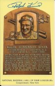 Autographed Ralph Kiner Hall Of Fame Gold Plaque