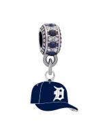 Detroit Tigers Ball Cap Charm