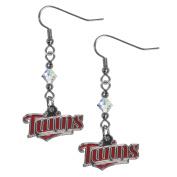 MLB Women's Crystal Dangle Earrings