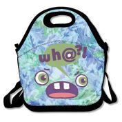 Weekly Emoji Lunch Bag Box Tote Bag