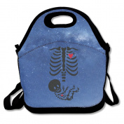 Mother To Be - Skeleton Maternity Lunch Bag Box Tote Bag