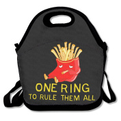 One Ring To Rule Them All Lunch Bag Box Tote Bag