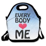 Everybody Love Me Lunch Bag Box Tote Bag