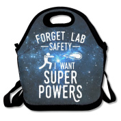 Forget Lab Safety I Want Superpowers Lunch Bag Box Tote Bag