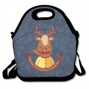 Moon Ride Moose Love Lunch Bag Box Tote Bag