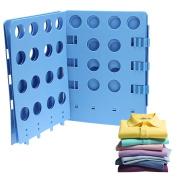 Colleer Adjustable Shirt Folder Board Magic Fast Folder Clothes T-shirts Folding Board