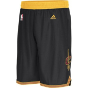 Cleveland Cavaliers Adidas Pride Black Youth Swingman Shorts