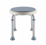 Cqq Bath chair Rotary Bath Chair, Round Stool Elderly Pregnant Woman Shower Stool, Height Adjustable Rotatable