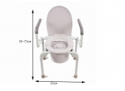 Cqq Bath chair Elderly Pregnant Women With Disabilities Steel Tube Sitting Chair Chair Toilet Home
