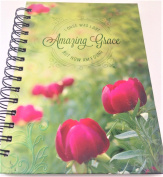 "Amazing Grace "" NOTEBOOK JOURNAL"" Tulip Theme Cover"