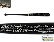 Dale Murphy Autographed/Signed Atlanta Braves Rawlings Engraved Big Stick Black MLB Bat With Career Stats Inscription - Limited Edition #1 Of 13
