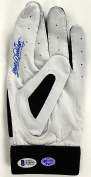 Indians Sandy Alomar Jr. Signed Game Used Rawlings Batting Glove BAS #B38595 - Beckett Authentication