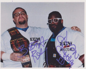 Dudley Boys Devon & Bubba Ray Signed WWE ECW Tag Team Champions 8x10 Photo - Autographed MLB Photos