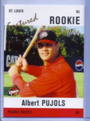 ALBERT PUJOLS JUST MINORS PEORIA CHIEFS FEATURED ROOKIE CARD #AP3! W/H TOP LOADER!