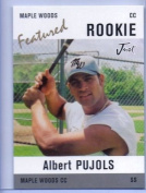 ALBERT PUJOLS JUST MINORS MAPLE WOODS FEATURED ROOKIE CARD #AP1! W/H TOP LOADER!