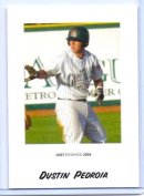DUSTIN PEDROIA 2004 JUST MINORS ROOKIE CARD #60! BOSTON RED SOX!