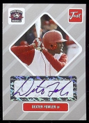 """DEXTER FOWLER 2004 JUST MINORS """"1ST EVER PRINTED"""" SILVER EDITION """"CERTIFIED AUTOGRAPHED"""" ROOKIE CARD! 1 OF 100!"""