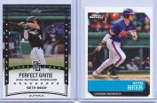 """SETH BEER 2014 LEAF PERFECT GAME & 2016 SPORTS ILLUSTRATED """"2"""" CARD ROOKIE LOT! CLEMSON TIGERS!"""
