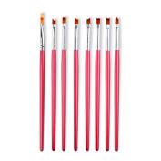 MAKARTT 8pcs/Set Nail Art Brush 3d Carving Drawing Flower Pen Brushes Gradient UV Gel Painting For Manicure