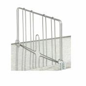 Nexel Divider For Solid Shelf, 60cm L x 20cm H