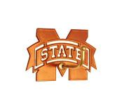 Henson Metal Works Miss. State Medium Colour Logo Wall Hook