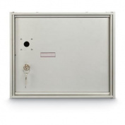 postalproducts N1029436 25cm Parcel Locker 4B+ Horizontal Mailbox, 29cm Height, 34cm Width, Anodized Aluminium