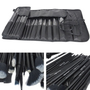 Inovaneo 32pcs Makeup Brush Set Professional Makeup Kits Brushes Cosmetic Makeup Set for Women with Pouch Bag Case Black