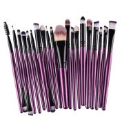 20 makeup brush Eye Shadow Brush Set Beauty Tools Washing Egg Bag Packaging