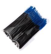 LOUISE MAELYS 100pcs Disposable Mascara Brushes Multicolor Eyelash Eyebrow Makeup Brush Wands Applicator Beauty Kit