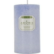 Tranquilly Aromatherapy One 7cm X 13cm Pillar Aromatherapy Candle. The Essential Oil Of Lavender Is Known For Its Calming And Healing Benefits. Burns Approx. 75 Hrs. by Tranquilly Aromatherapy