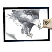 Tracing Light Box, A4 Led Drawing Tracing Board Portable Led Light Pad of USB Interface and Super thin Drawing Light Box Pad Ultra-thin copy of the table