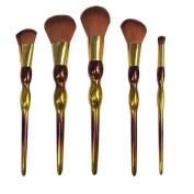 Makeup Brushes,ABCsell 5Pcs Women Makeup Cosmetic Brushes Lady Powder Foundation Eyeshadow Lip Brushes