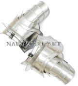Nauticalmart Steel Pauldrons with Blade Breakers 20 Gauge Steel