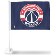 Washington Wizards Car and NBA Auto Flag