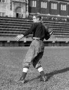 1921 Rauber, Quarterback, Central HS, Washington Vintage Photograph 22cm x 28cm