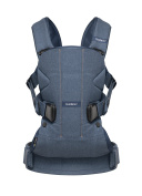 BABYBJORN Cotton Mix Baby Carrier, Classic Denim/Midnight Blue