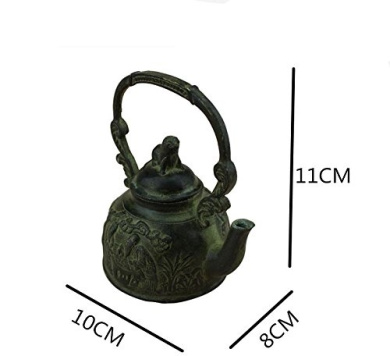 Copper Teapot Handicraft Antique Bronze Home Decoration Ornaments Retro Carved Bronze Copper Kettles