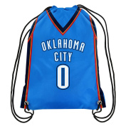 NBA Oklahoma City Thunder Russell Westbrook #0 Double Sided Drawstring Backpack