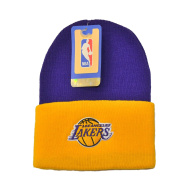 NBA Classic Cuff Beanie Hat - Adidas Cuffed Winter Knit Baskteball Cap