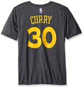 NBA Golden State Warriors Boys Game Time Pride Performance Short Sleeve Tee, Charcoal, Xl