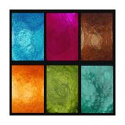 Jewellery Box , Primary Elements Arte-Pigments BY leslie Ohnstad, SIX PC SET 10ml Shaker Jars List price $ 31.50, Save $6.50