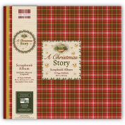 A Christmas Story - First Edition Scrapbook Window Memory Photo Album 30cm x 30cm