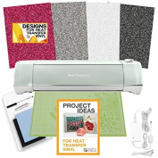 Cricut Explore Air 2 Machine Bundle - Glitter Heat Transfer Pack, Designs & Ideas